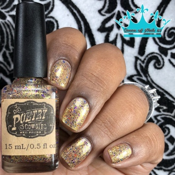 """Poetry Cowgirl Nail Polish - """"Whatever it Takes"""" - w/ glossy tc"""