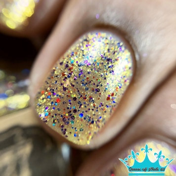 "Poetry Cowgirl Nail Polish - ""Whatever it Takes"" - macro"
