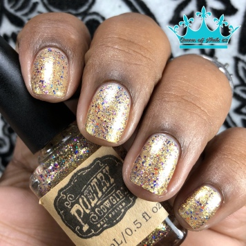 """Poetry Cowgirl Nail Polish - """"Whatever it Takes"""" - w/ matte tc"""