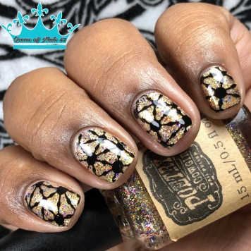 "Poetry Cowgirl Nail Polish - ""Whatever it Takes"" - w/ nail art"
