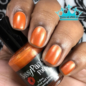 "Sassy Pants Polish - ""Because of the Brave"" - w/ matte tc"
