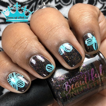 "Pretty Beautiful Unlimited - ""Honor & Valor"" - w/ nail art"