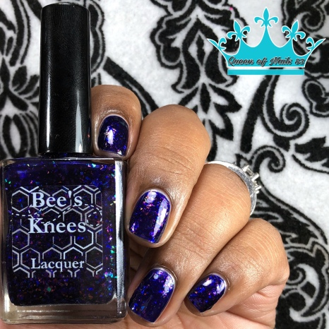 """Bees Knees Lacquer - """"All Gave Some"""" - w/ glossy tc"""