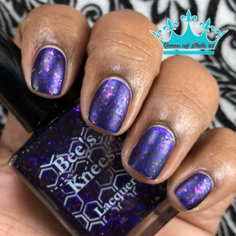 """Bees Knees Lacquer - """"All Gave Some"""" - w/ matte tc"""