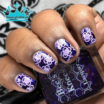 """Bees Knees Lacquer - """"All Gave Some"""" - w/ nail art"""