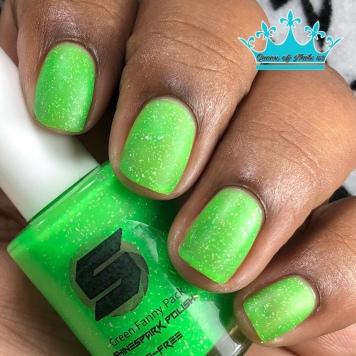 Green Fanny Pack - w/ matte tc