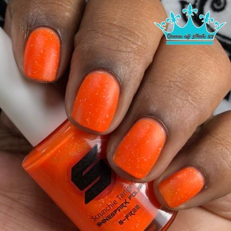 Scrunchie Tangerine - w/ matte tc