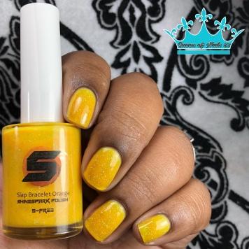 Slap Bracelet Orange - w/ glossy tc