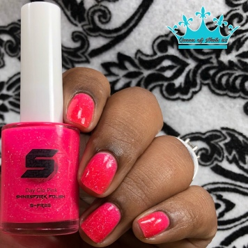 Day Glow Pink - w/ glossy tc