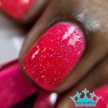 Day Glow Pink - macro