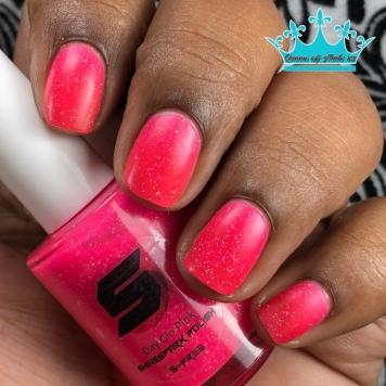 Day Glow Pink - w/ matte tc