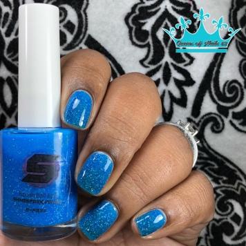 Koosh Ball Blue - w/ glossy tc
