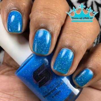 Koosh Ball Blue - w/ matte tc