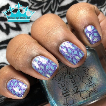 Scandinavia - w/ nail art