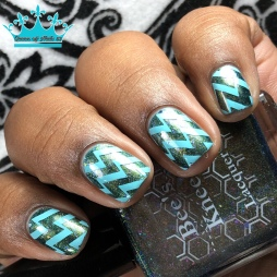 The World - w/ nail art