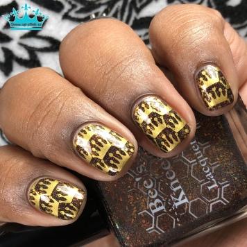 The Devil - w/ nail art