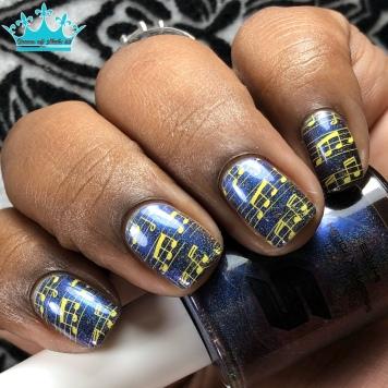 Posh Unicorn - w/ nail art
