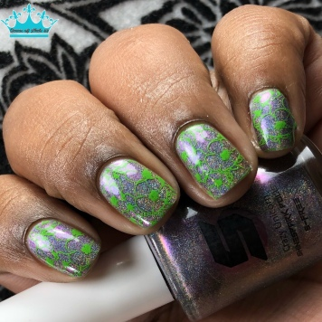 Crazy Unicorn - w/ nail art