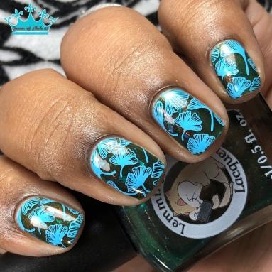Omega Strain - w/ nail art