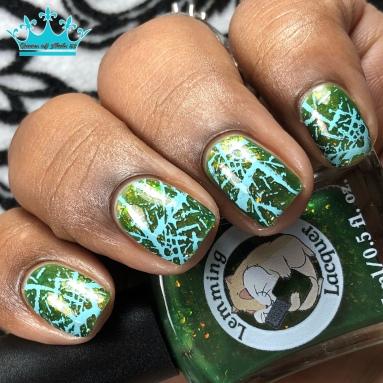 Midsummer's Eve - w/ nail art