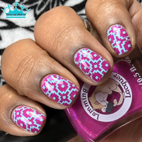 Queen Titania - w/ nail art