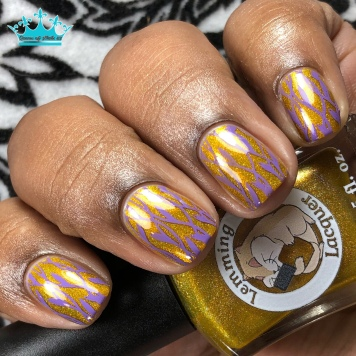 Golden Age of People Not Being Such Dicks All The Time (GAoPNBSDAtT) - w/ nail art