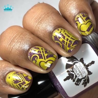To Infinity - w/ nail art