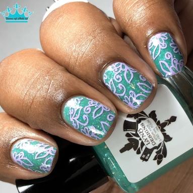 Viridity - w/ nail art