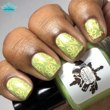 Peekaboo I See You - w/ nail art