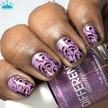 Different Dimension – Eat, Drink, & Be Fairy - w/ nail art