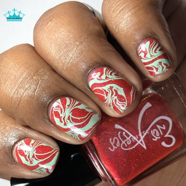 Ever After - There Goes Her Social Life - w/ nail art