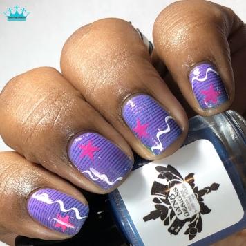 LynB Designs - Spoon! - w/ nail art