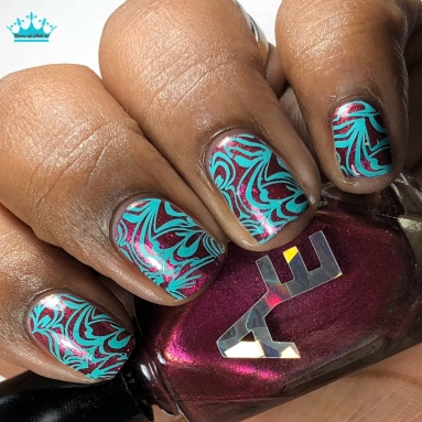 She's A Brick House - w/ nail art