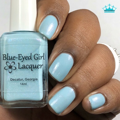 Blue-Eyed Girl Lacquer - The Ancient Power - w/ glossy tc
