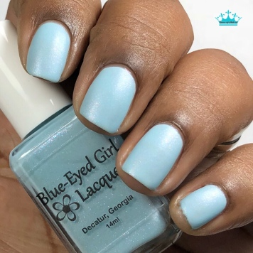 Blue-Eyed Girl Lacquer - The Ancient Power - w/ matte tc