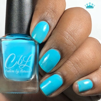 Azure Thing - w/ glossy tc