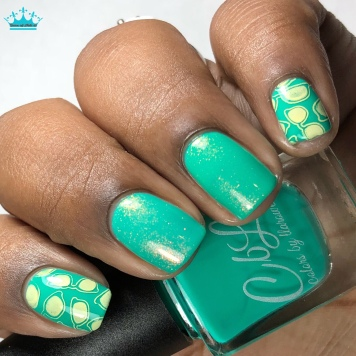 Let's Boogie - w/ nail art