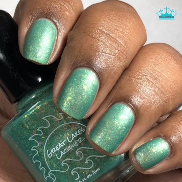 Great Lakes Lacquer - WTF Puck?! - w/ matte tc