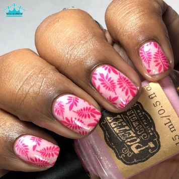 Poetry Cowgirl - Cupid is a Knavish Lad - w/ nail art