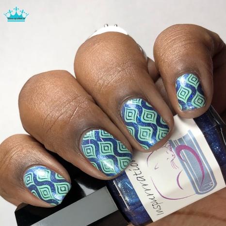 Inspurrrations Nail Polish - Genesis 1:16 - w/ nail art