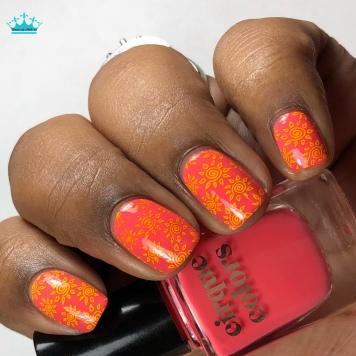 BAM - w/ nail art