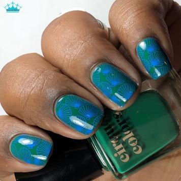 Lafayette - w/ nail art