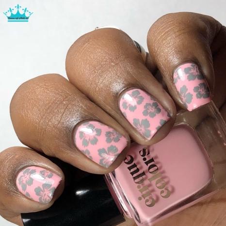 Uptown Girl - w/ nail art
