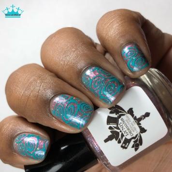 Obliviate - w/ nail art