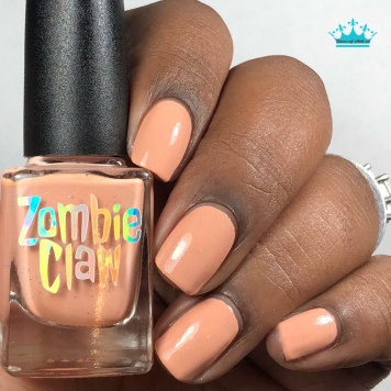"""Zombie Claw Polish - """"You Are So Loved"""" - w/ glossy tc"""