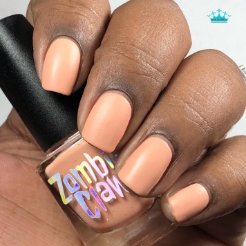 "Zombie Claw Polish - ""You Are So Loved"" - w/ matte tc"