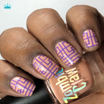 """Zombie Claw Polish - """"You Are So Loved"""" - w/ nail art"""