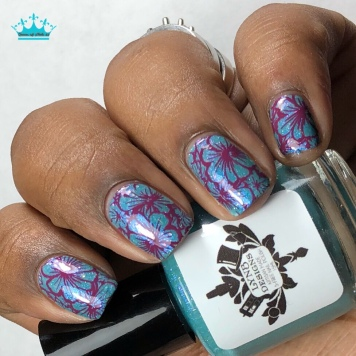 "LynB Designs - ""Aspire to Help"" - w/ nail art"