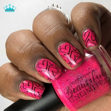 "Pretty Beautiful Unlimited - ""Family By Choice"" - w/ nail art"