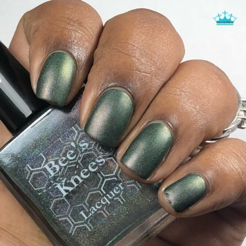 "Bee's Knees Lacquer - ""Family is More Than Blood"" - w/ matte tc"